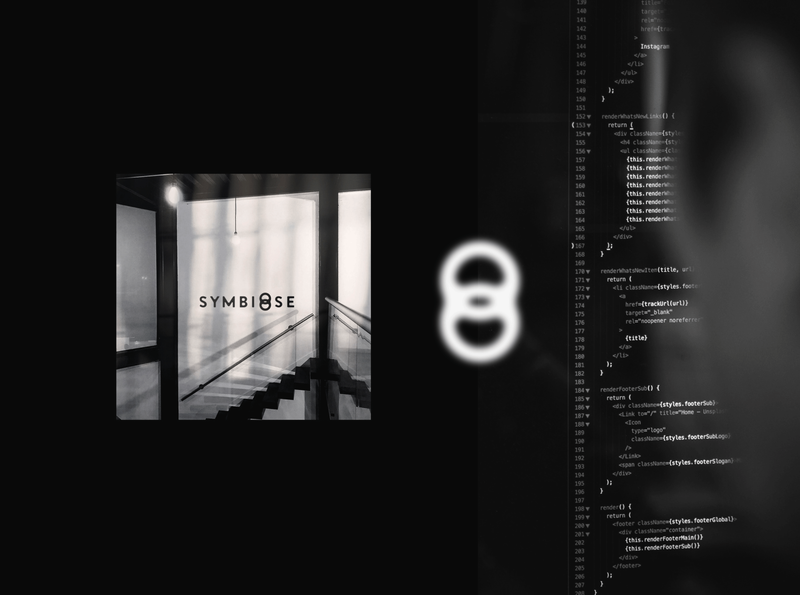 Symbiose symbiose icon branding design logotype logo design brand logo