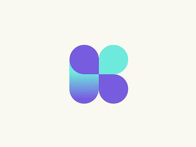 Kapital Logo paraguay finance fintech bank kapital logo branding design indicius