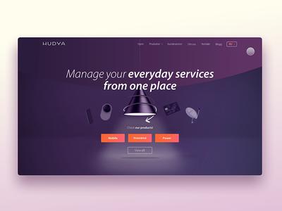 Hudya commercial website