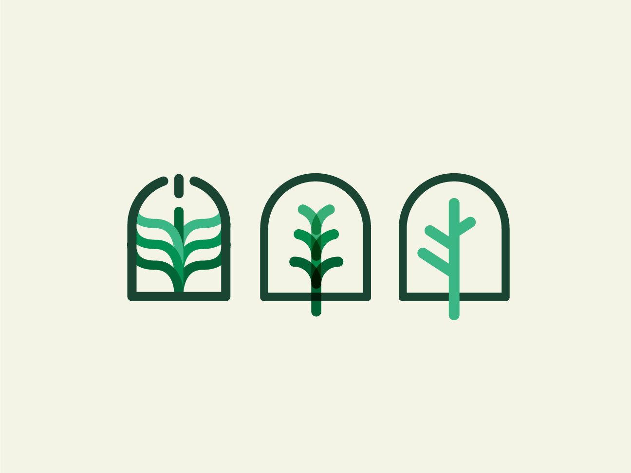 Test 2 - Logotype health nature green leafs leaf icon branding vector design brand logo design logotype logo