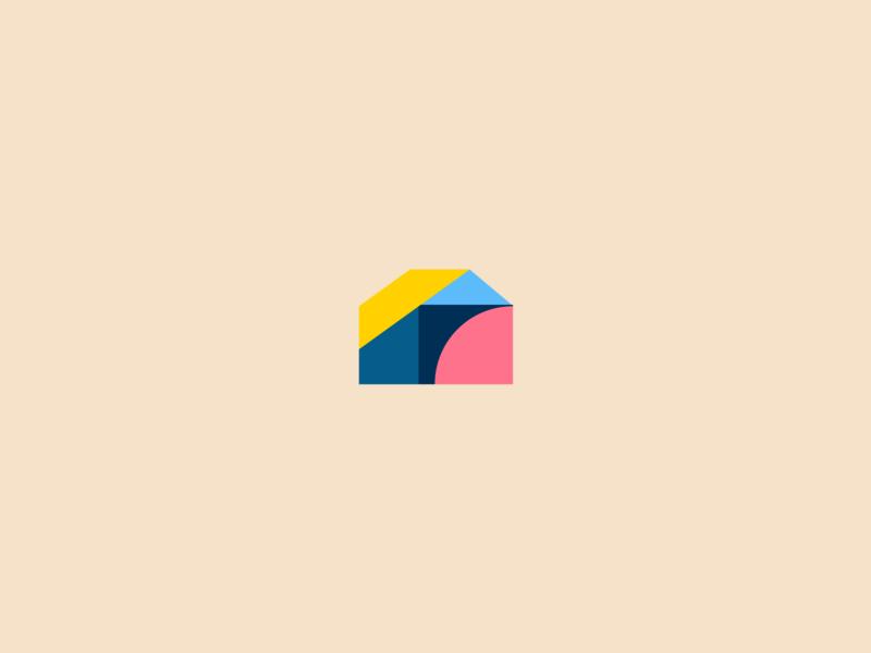 House logo illustration vector logotype brand friendly abstract abstract logo house logo logo design logo geometry house