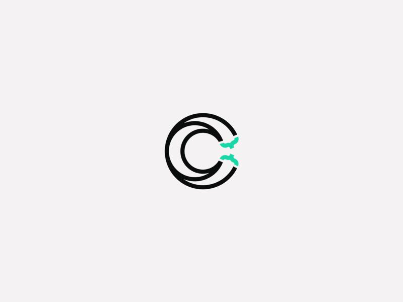 Digital agency logo proposal c digital programming programmer design logotype brand logo design logo