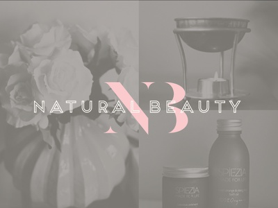Natural Beauty Logo beauty salon branding logo