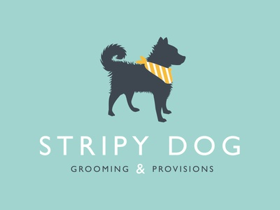 Stripy Dog Logo