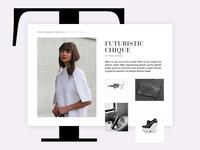 Online Fashion Magazine Article Concept