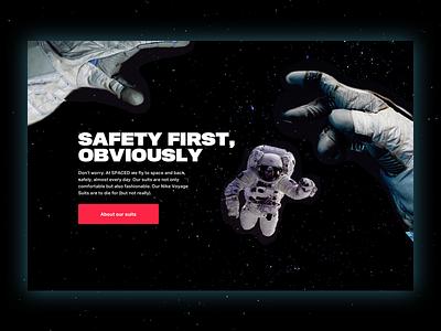 POV in space ✨ #spacedchallenge bold gravity gloves ruimte stars voyage suit nike astronaut view point pov