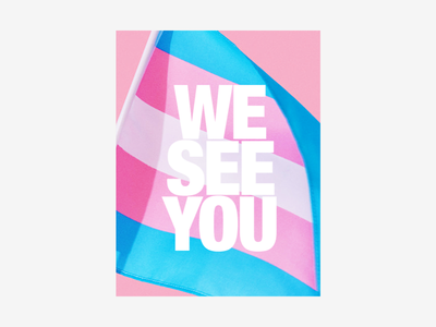 💖Poster for Trans Day of Visibility homo flag visibility activism poster trans lesbian gay lgbt lgbtq transsexual transgender