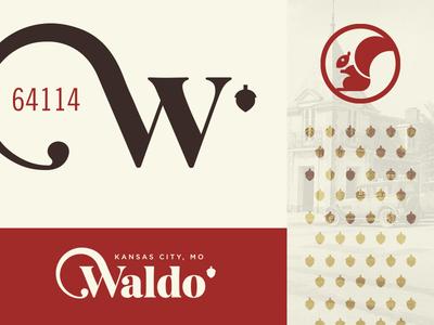Waldo Hood zip-code branding acorns squirrel kcmo