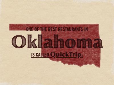 United States of Shit Talkin' | OK foodie quicktrip oklahoma city oklahoma