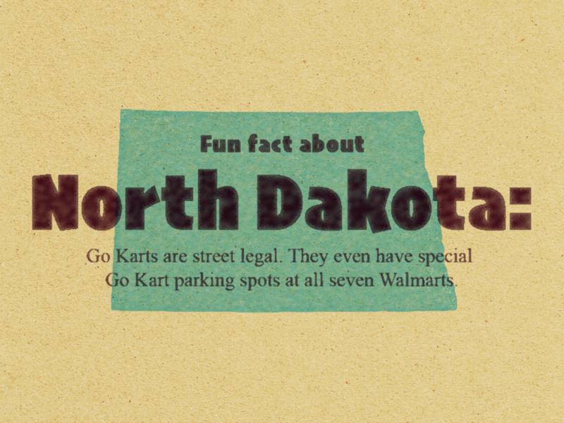 United States of Shit Talkin' | ND street legal walmart go kart north dakota