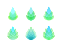Plant Simple Logo Options