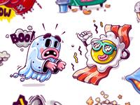 Kik Messenger Stickers