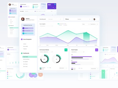 Nano Insights: Dashboard ux app clean visualization graph data dashboard ui dashboard ui design ui minimal
