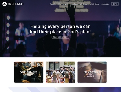 3D Church's Home Page