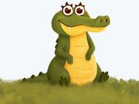 """Character Design: """"Calli Croc"""""""