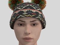 Product Modeling: Warm Hat! model warm hat beanie
