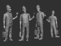 3D Character Modeling: Character Model Set