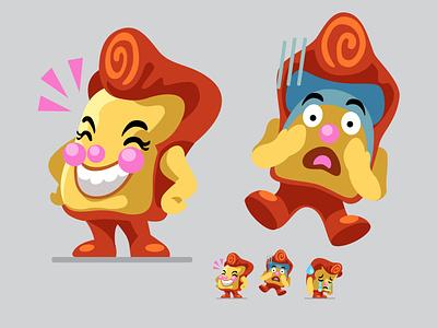 Emoji Graphic Set: Toasted Emotions! slack toast emoji
