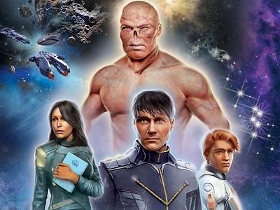 """Book Cover Design: """"The Kaiyos Lex: Imperium"""" graphic art illustration book cover design book cover art"""