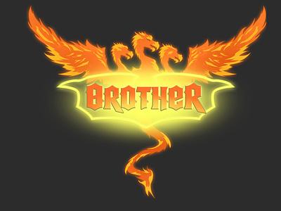 Logo Design: Brother The Band graphic art logo design