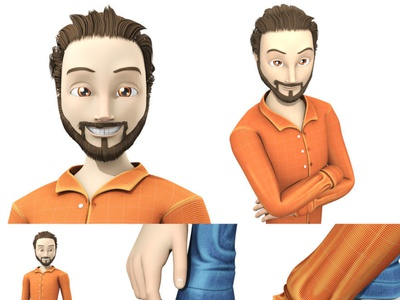 3D Character Design: Mother and Father character design illustration graphic art characterdesign