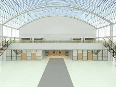 Scene Renders: Convention Hall 3d room convention hall renders
