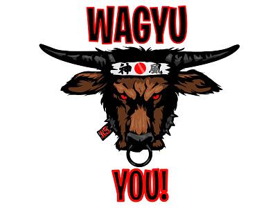"""Merchandise Graphics: """"Wagyu U"""""""