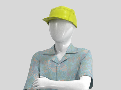 Avatar Modeling: Retail Promotions 3d modeling retail avatar clothing