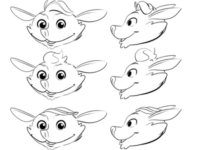 Character Concepting: Facial Ideas graphic art concept art