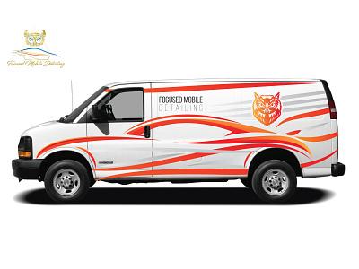 Vehicle Wrap Design: Focused Mobile Detailing vehicle wrap
