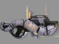 Weapon Design: Future Rifle Concept Sheet