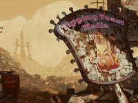 'Fallen World' 3D Promotional Illustration
