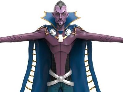 "3D Modeling: ""Star Mage Orasmas"" video games gaming heroes 3d models character design"