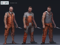 Character Development: Convict Alternate Skins