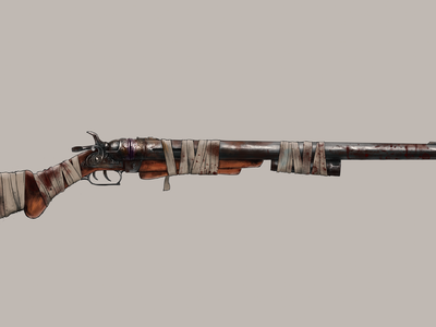 """Weapon Design: """"Pappy"""" (The Trusty, Rusty)"""