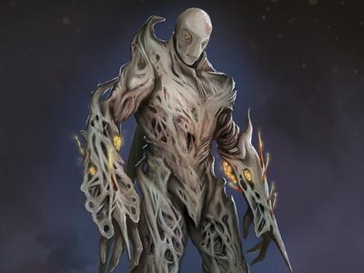 Character Development: Organic Armor/Race Leader Concept