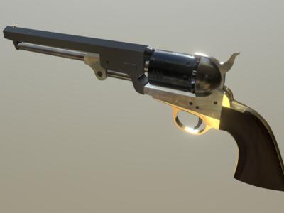 The U.S. Colt 1851 Navy .36 cal Percussion Revolver
