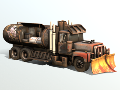 """Vehicle Development: """"The Pig Rig"""" Post Apocalyptic Food Truck!"""