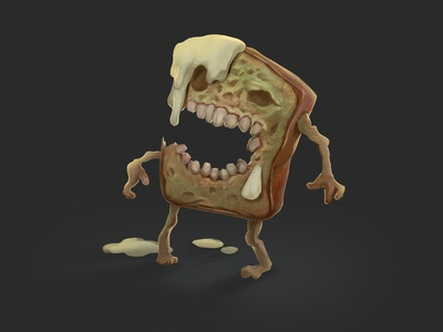 Happy Halloween 2019: Zombie Toast!!!