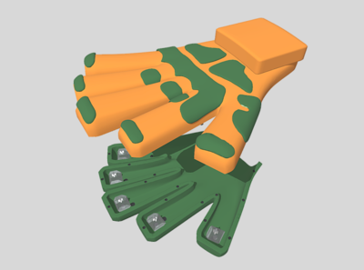 """Product 3D Printing: """"Hand Style Gaming Controller"""""""