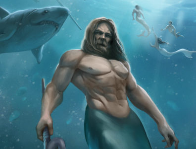 "Book Cover Art: ""Merman"""