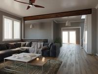 Home Restoration: 3D Render-Post Renovation Decorating