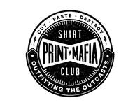 Print Mafia Shirt Club Badge