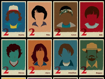 Stranger Things minimalist collection
