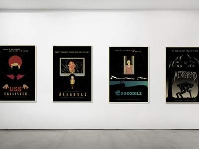Black Mirror Season 4 Poster Collection