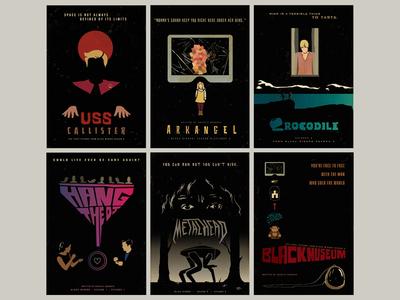 Black Mirror Season 4 Minimalist Posters