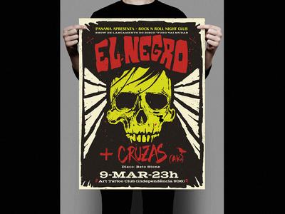 El Negro + Cruzas poster