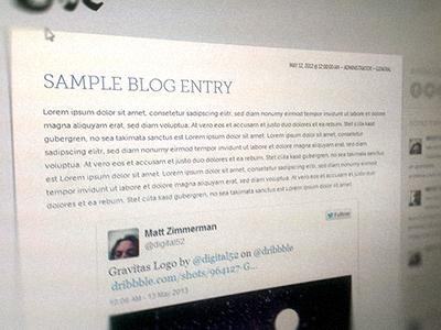 CaX Blog Design web responsive cax
