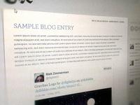 CaX Blog Design