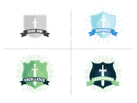 IVGA Achievement Badges